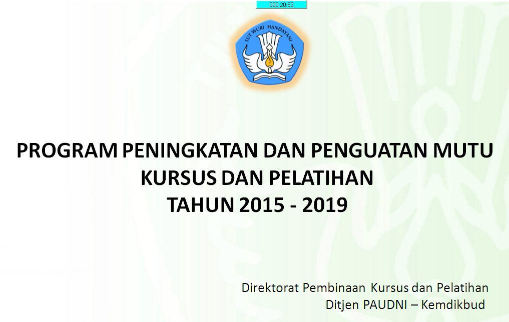 Kegiatan Pemagangan LKP Tahun 2015 di DI Yogyakarta