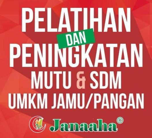 Pelatihan UMKM Jamu Indonesia 2017